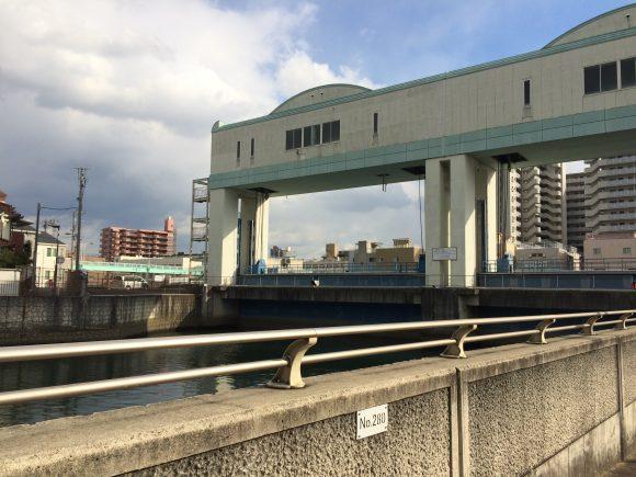 城北川水門