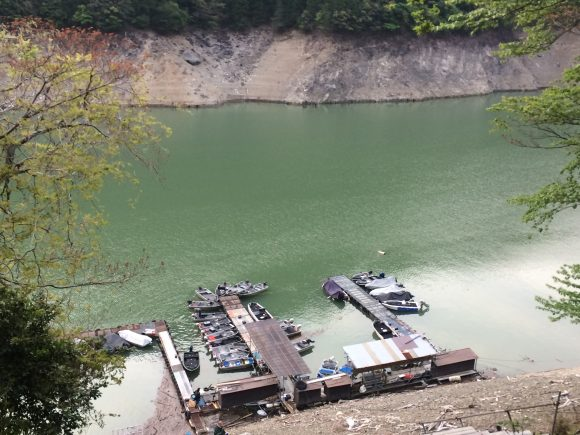 池原ボート昇降