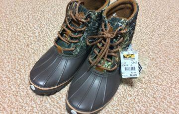 ワークマン防寒靴(ブーツ)