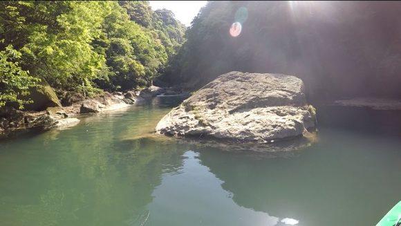 熊野川のバックウォーター