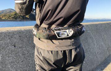 腰巻タイプのライフジャケット