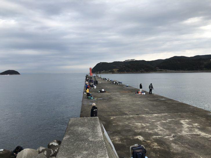 和歌山の加太大波止