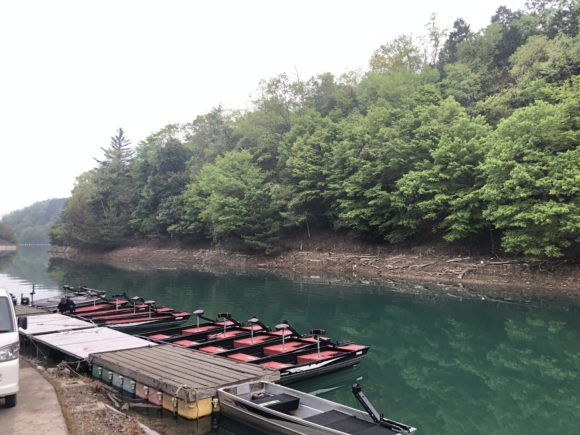 日吉ダムレンタルボート