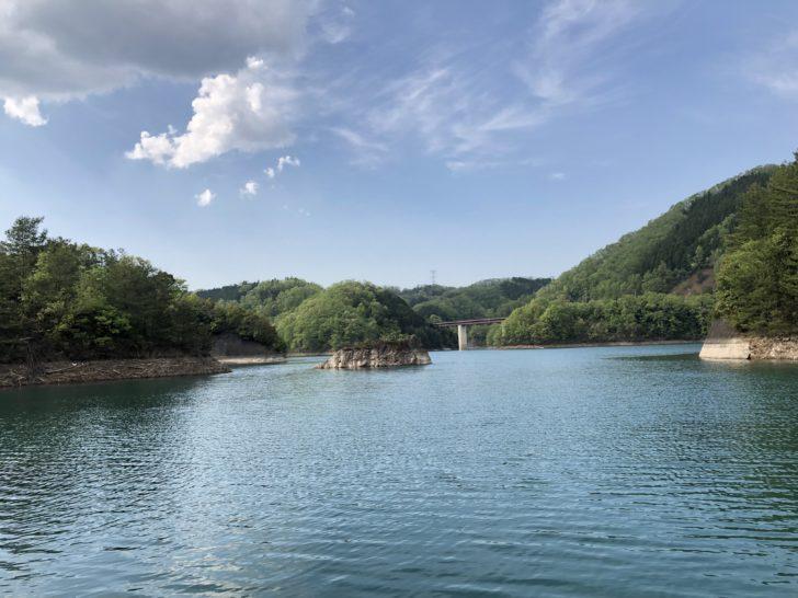 日吉ダムでバス釣り