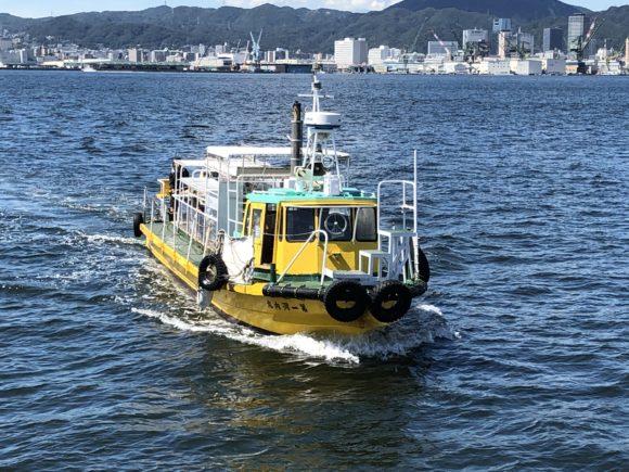 河内渡船か谷一渡船