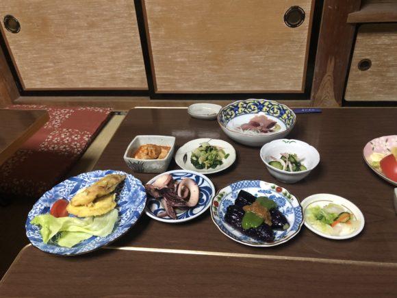 浜吉丸の食事