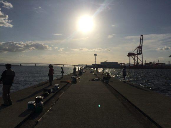 松村渡船の混雑