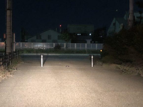 久保渡船の駐車場