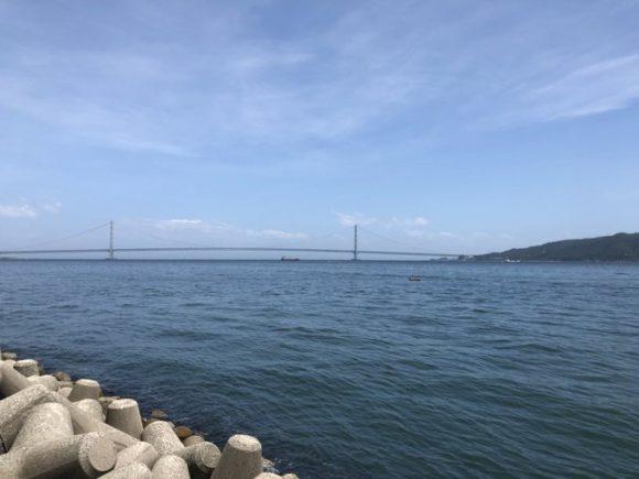 明石海峡ショアジギング