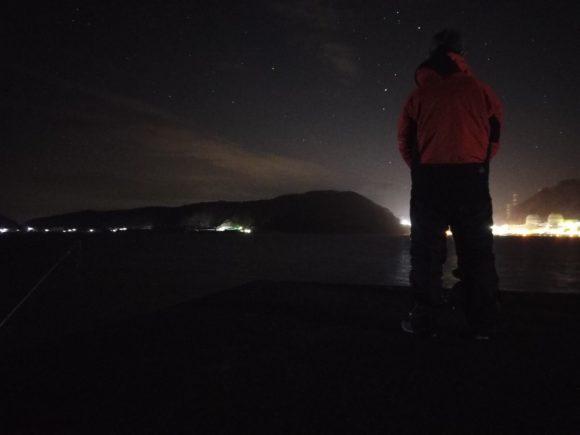 福井の夜空