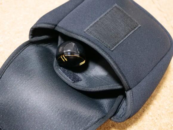 ハンドルノブのポケット